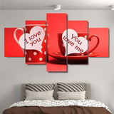 Kitchen Good Morning Love You Cup For Lovers Room - Mystikz Gaming