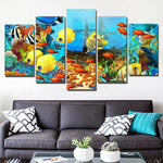 Coral Reef Sea Ocean Color Fishes - Mystikz Gaming
