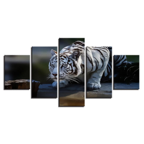 Home White Tiger Animals - Mystikz Gaming