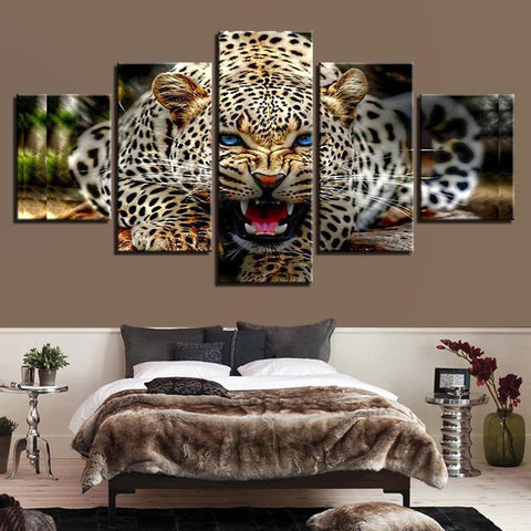 Ferocious Leopard Animal - Mystikz Gaming