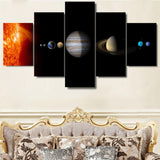 Solar System Stars Planets Universe