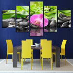 Decor Stones Bamboo Orchid Flowers - Mystikz Gaming
