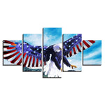 American Flag And Eaglepread Wings - Mystikz Gaming