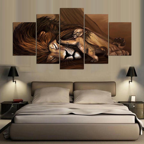 Anime Lion Paintings - Mystikz Gaming