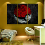 Pokemon Pokeball Canvas Art - Mystikz Gaming