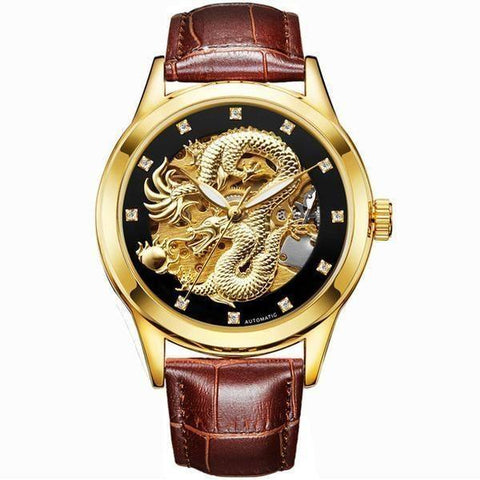 Mechanical Dragon Watch