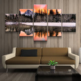 Yosemite Daybreak Landscape Canvas Art
