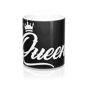 "White ""Queen"" Design Coffee Mug"