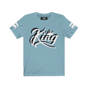 "White 3D Ink ""King"" Jersey 