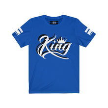 "Load image into Gallery viewer, White 3D Ink ""King"" Jersey 