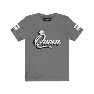 "White 3D Ink ""QUEEN"" Jersey 