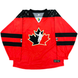 2018 World Junior Canada Authentic Jersey