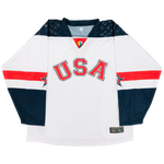 2018 World Junior United States Authentic Jersey