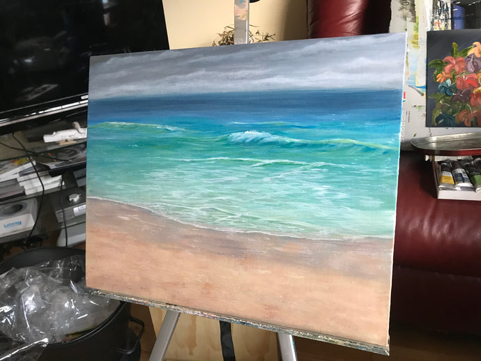 On the easel this week