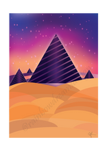 Load image into Gallery viewer, Abstract Pyramid Print