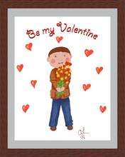 Load image into Gallery viewer, Boy with Flowers