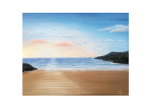 Load image into Gallery viewer, Fintra beach, Trawler on the horizon