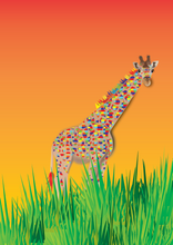 Load image into Gallery viewer, Colouring Page - Giraffe