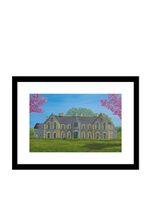 Convent Building Kilbeggan Print of Original Painting