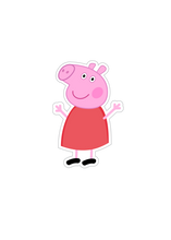 Load image into Gallery viewer, Colouring Page - Peppa Pig