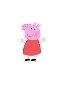 Colouring Page - Peppa Pig
