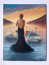Load image into Gallery viewer, Children of Lir at Sunset