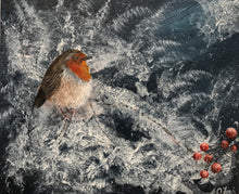 Load image into Gallery viewer, Frosty robin
