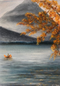 Autumn Leaf Boat