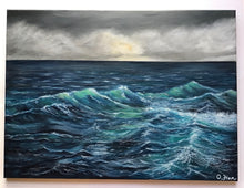 Load image into Gallery viewer, Stormy Seascape