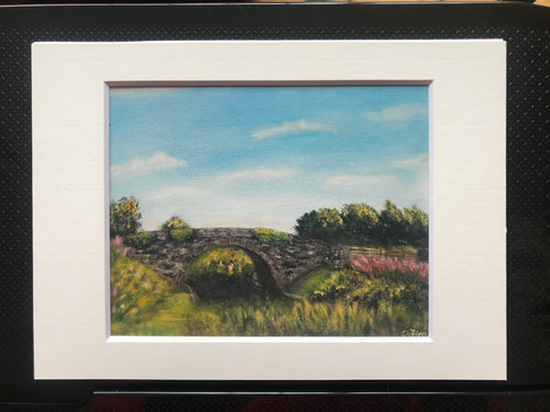 Skeahanagh Bridge Print of Original Painting