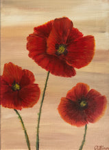 Load image into Gallery viewer, Poppies in March