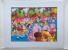 Load image into Gallery viewer, Ice Cream World Print
