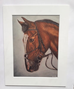 Kilbeggan Horse 2 Print of Original Painting