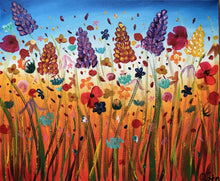Load image into Gallery viewer, Abstract Flower Meadow 3