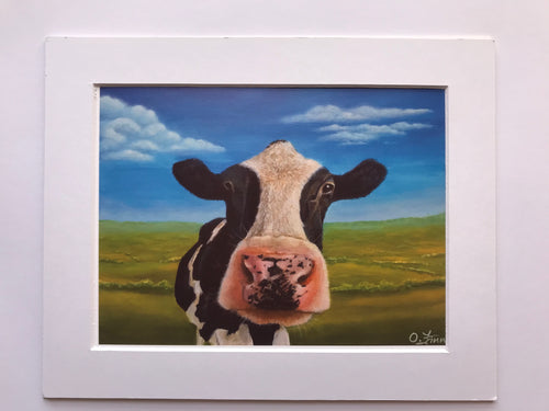 Westmeath Cow 1 Print of Original Painting