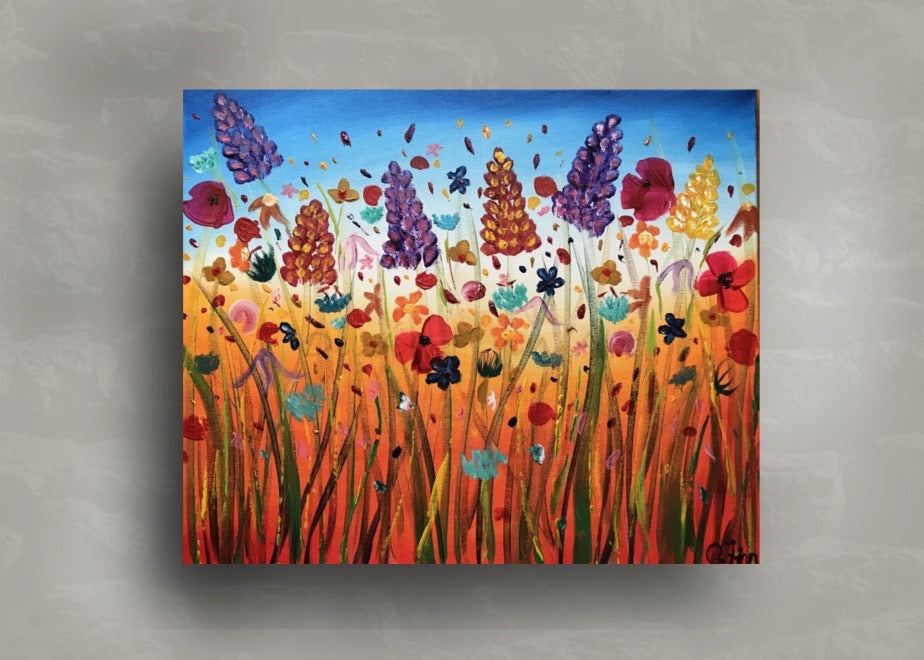 Abstract Flower Meadow 3