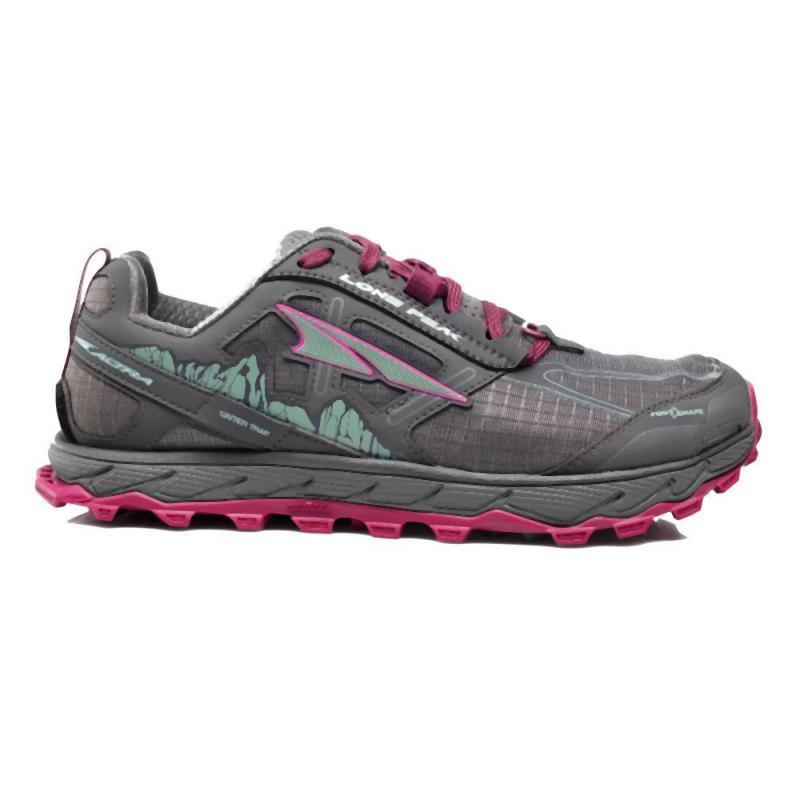 Altra Women's Lone Peak 4: Raspberry-Trail Running Shoes-Likeys