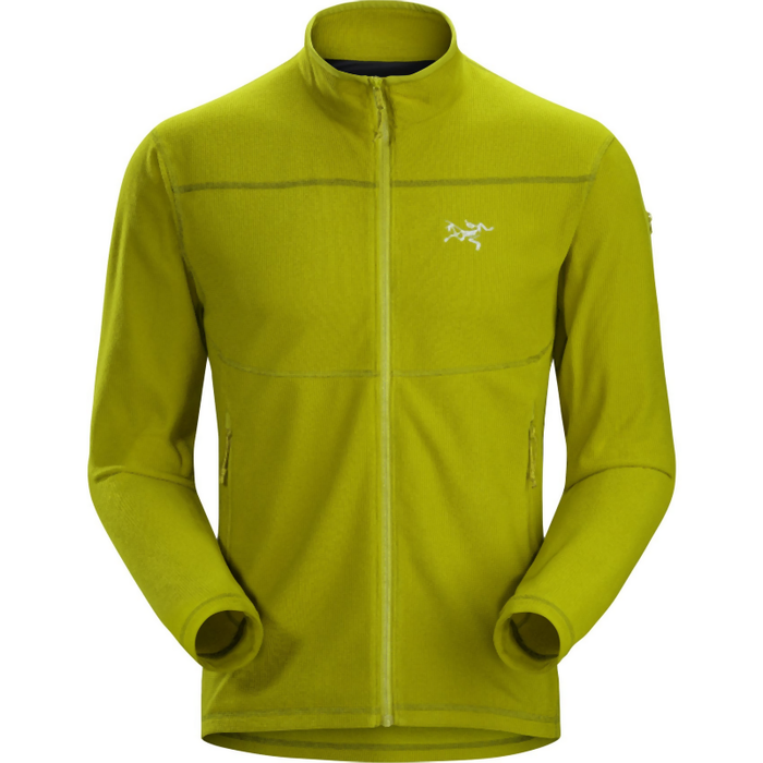 Arc'teryx Men's Delta LT Zip Jacket: Olive Amber