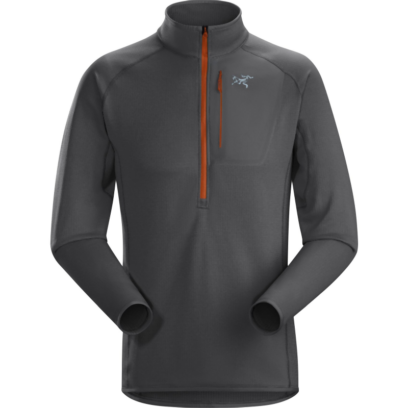 Arc'teryx Men's Konseal Zip Neck Fleece: Pilot-Fleeces-Likeys