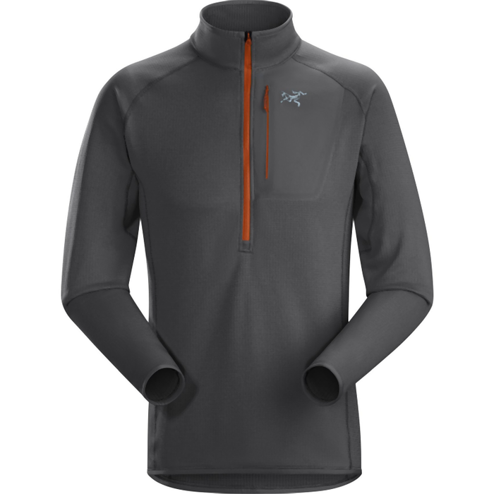 Arc'teryx Men's Konseal Zip Neck Fleece: Pilot