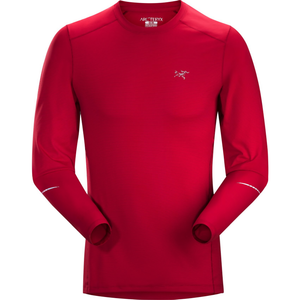 Arc'teryx Men's Motus Crew LS: Red Beach-Tees-Likeys