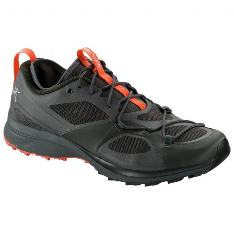 Arc'teryx Men's Norvan VT: Titan/Maple-Trail Running Shoes-Likeys