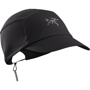 Arc'teryx Motus Hat: Black-Headwear-One Size-Likeys