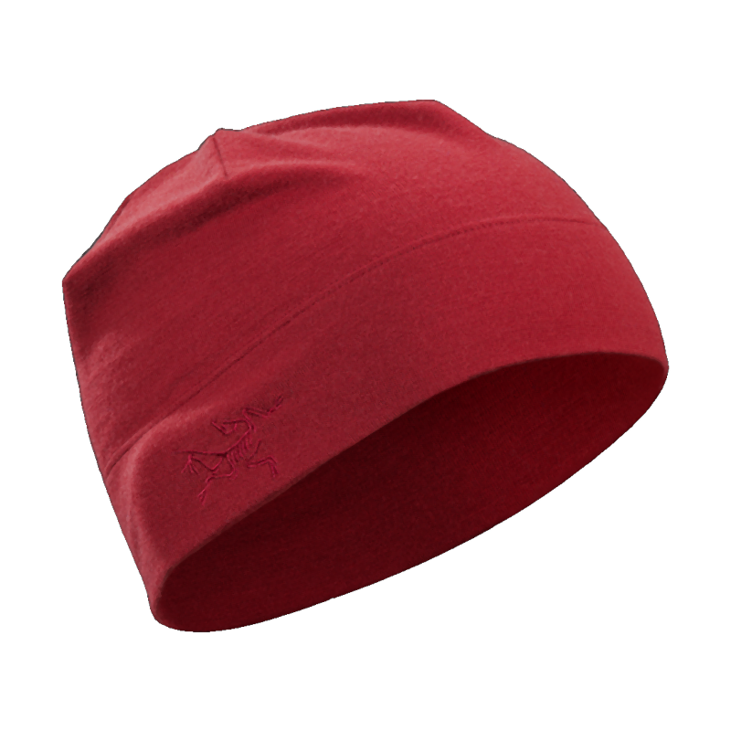 Arc'teryx Rho LTW Beanie: Red Beach-Headwear-One Size-Likeys