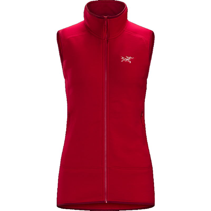 Arc'teryx Women's Kyanite Vest: Radicchio-Fleeces-Likeys