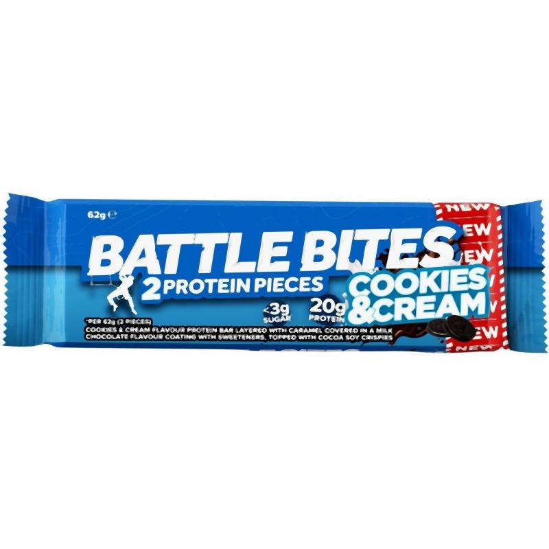 Battle Oats Battle Bites Cookies & Cream-Food & Nutrition-Single Serving-Likeys