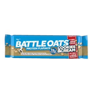 Battle Oats Protein Flapjack: Cookies & Cream-Food & Nutrition-Single Serving-Likeys