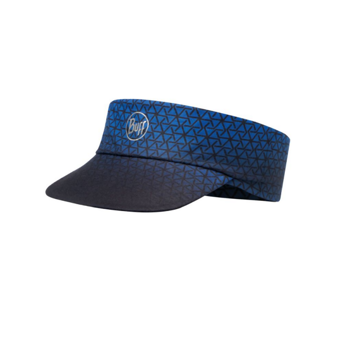 Buff Pack Run-R UV Visor: Cape Blue
