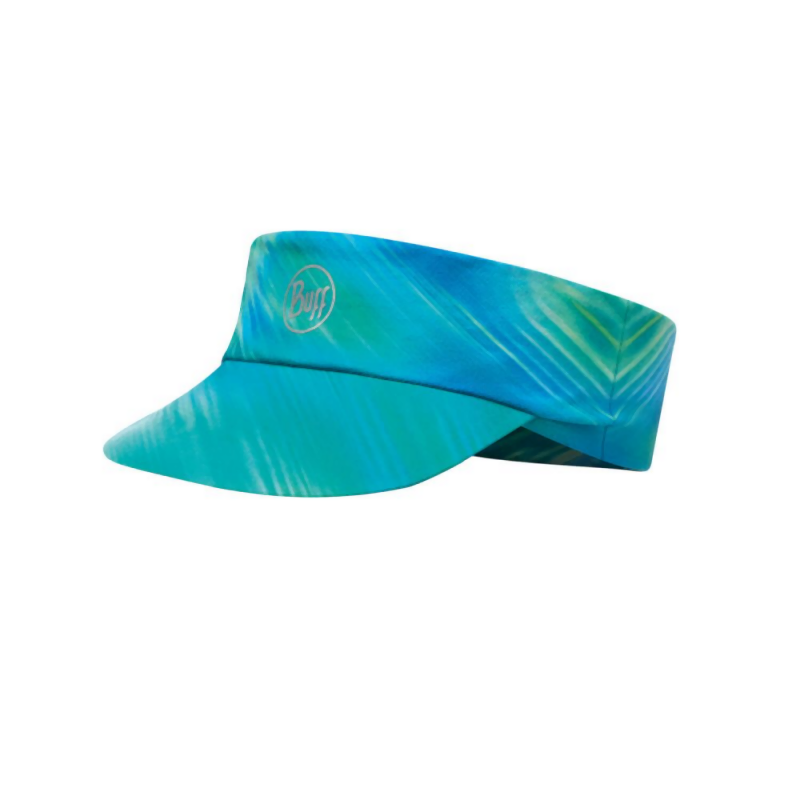 Buff Pack Run-R UV Visor: Shining Turquoise-Headwear-One Size-Likeys