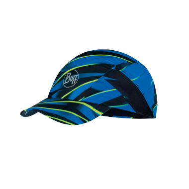 Buff Pro Run Cap: R-Focus Blue-Headwear-Likeys